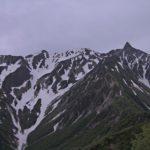 槍ヶ岳東斜面の「今」の配信をはじめました